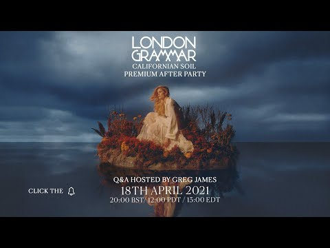 [LIVE] London Grammar - Youtube Premium Afterparty