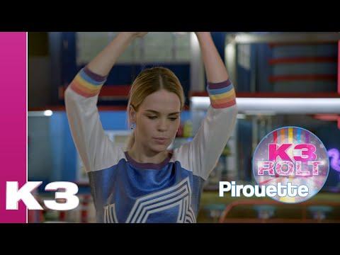 De pirouette, rolballet - K3 Rolt Tutorial | K3 Roller Disco Club