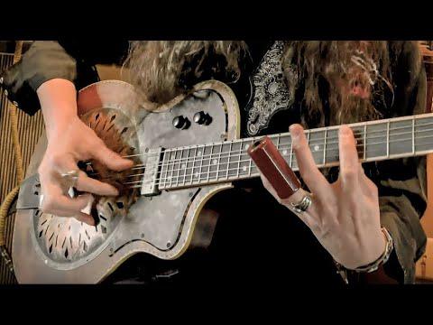 WHEN THE LEVEE BREAKS by Led Zeppelin • Fingerstyle Slide Guitar Version