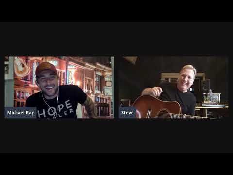 """Steve Wariner Playing """"Where the Blacktop Ends"""" is a Mood 