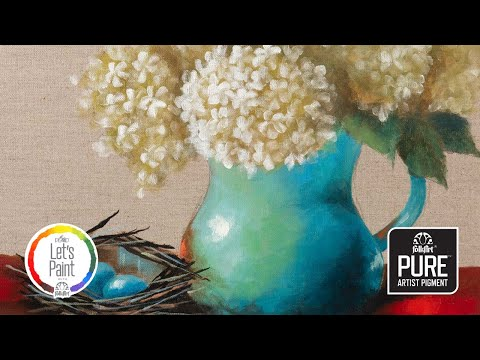 FolkArt Color Lesson Painting Tutorial: Endings And Beginnings