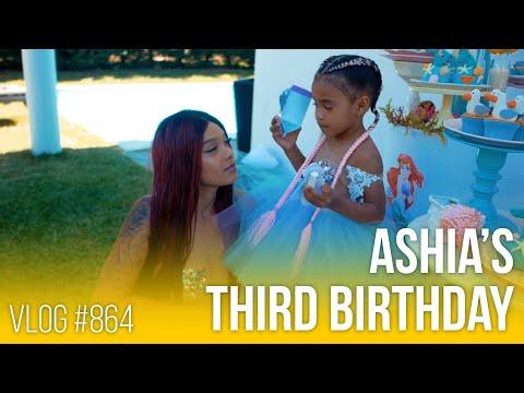 Ashia's 3rd birthday, june 2020 - vlog #864