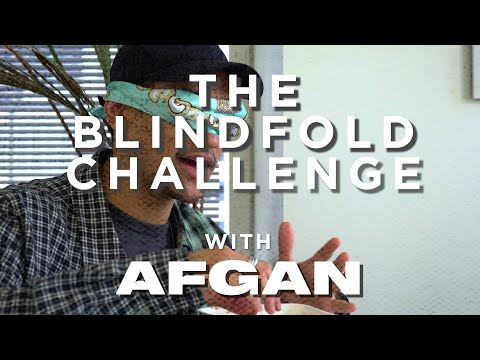The Blindfold Challenge with Afgan