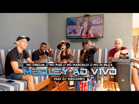 QUADRILHA DA FM - MC DI RAÇA, MC MARCELLY, MC PQD, MC ORELHA feat. DJ' DIEGOMPC