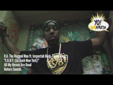 R.A. The Rugged Man - E.K.N.Y. (feat. Inspectah Deck + Timbo King) (B.K.N.Y. Mix) (Official Video)