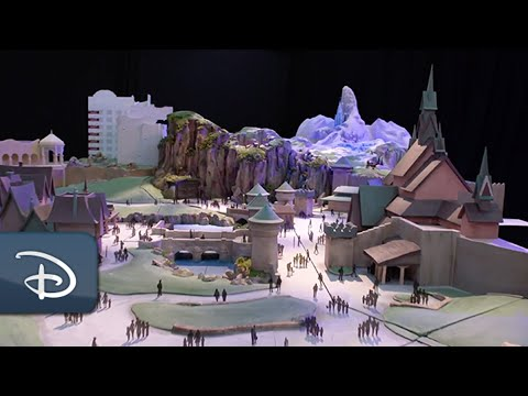 "Sneak Peek of Tokyo DisneySea's New Themed Port Fantasy Springs: ""Frozen"" Area 