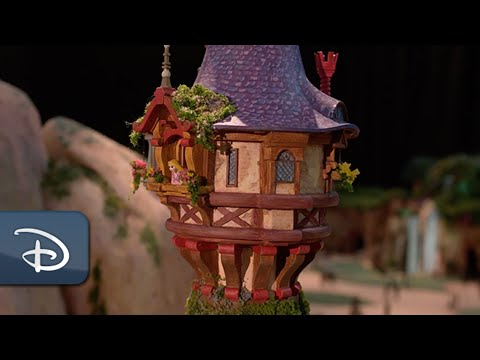 "Sneak Peek of Tokyo DisneySea's New Themed Port Fantasy Springs: ""Tangled"" Area 