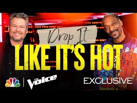 Snoop Dogg and Blake Shelton Are Twins - The Voice Knockouts 2021