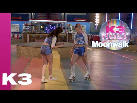 Leer de coole Moonwalk! - K3 Rolt Tutorial | K3 Roller Disco Club