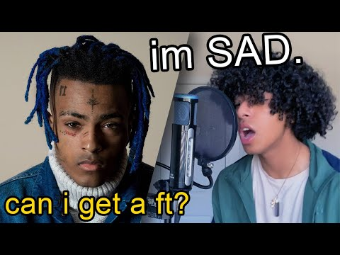 "If i was featured on ""SAD"" by xxxtentacion #shorts"