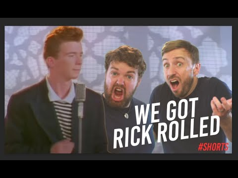 We Got Rick Rolled - Impressions Style Aca Battle - #shorts