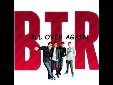 Big Time Rush - All Over Again (PaulPoland Fan-Artworks)