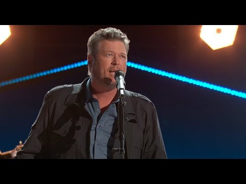Blake Shelton - Minimum Wage (From the 56th ACM Awards)