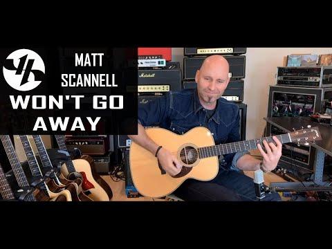 Won't Go Away Matt Scannell Vertical Horizon Acoustic 10-25-20