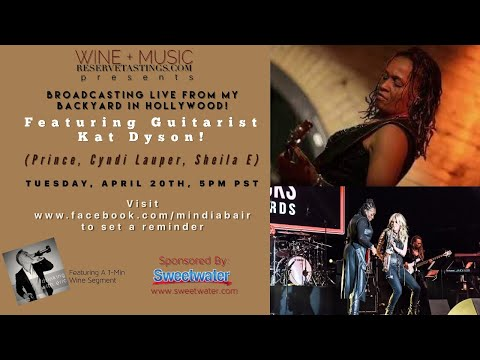 Mindi Abair's 43rd Wine + Music Session Featuring Kat Dyson