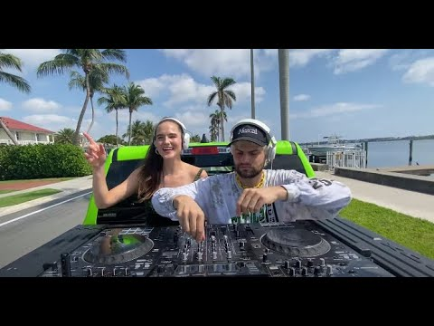 SOFI TUKKER - DJ Set from a Moving Truck!!