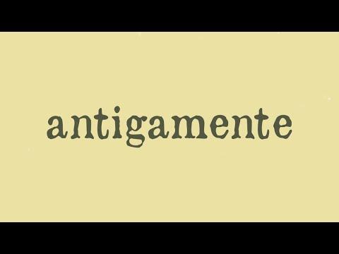 Antigamente - Arnaldo Antunes