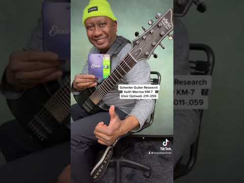 String Gauges I use for 7 string guitar!#shorts #stringgauge #strings #7stringguitar