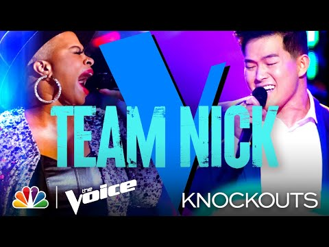 Dana Monique and Keegan Ferrell Bring Such Different and Amazing Energy - The Voice Knockouts 2021