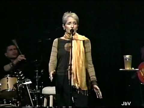 JOAN BAEZ sings Natalie Merchant's Motherland in concert.  2004