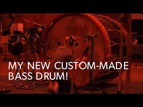 MEET MY NEW DRUM! | #StudioTalk