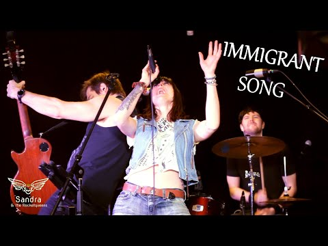 """Sandra & The Rocketqueens (Immigrant Song """"live"""" cover)"""