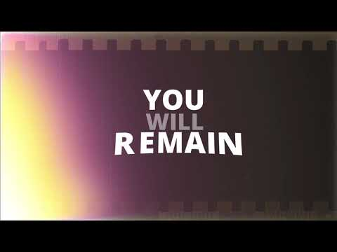 Anthony Evans - You Will Remain Lyric Video