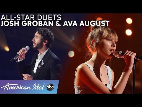 Josh Groban - American Idol All-Star Duets: Ava August [Full Performance]