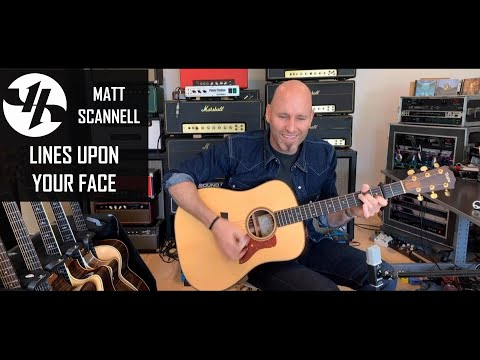Lines Upon Your Face Matt Scannell Vertical Horizon Acoustic 10-25-20
