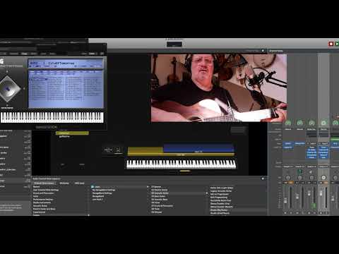 Fishman Triple Play Connect Apple mainstage demo