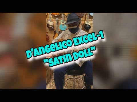 """Jamming on """"Satin Doll"""" with my new D'Angelico Excel-1! Guitar! #dangelico #satindoll"""