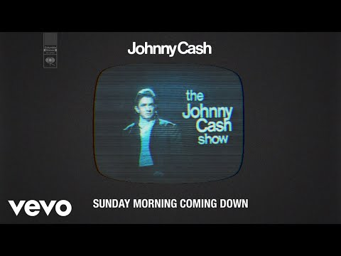 Johnny Cash - Sunday Morning Coming Down (Live - Official Audio)
