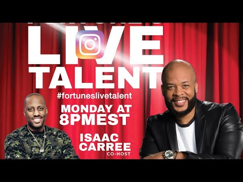 Fortune's Live Talent Birthday Bash for Isaac Carree! Monday 8pm est James Fortune
