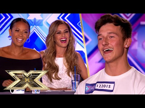 Cheryl and Mel B admire Jack Walton's CONFIDENCE!   Auditions   The X Factor UK