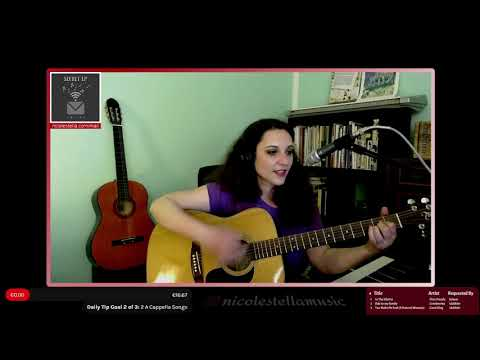 In The Ghetto - Elvis Presely | Live Acoustic Cover by Nicole Stella