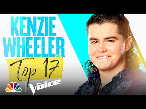 """Kenzie Wheeler Performs Brooks & Dunn's """"Red Dirt Road"""" - The Voice Live Top 17 Performances 2021"""