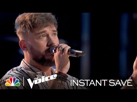 "Corey Ward's Wildcard Instant Save Performance: ""Lose You to Love Me"" - Voice Top 17 Results 2021"