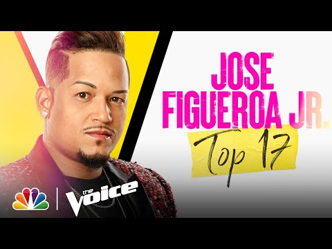 """Jose Figueroa Jr. Sings Bruno Mars' """"Talking to the Moon"""" - The Voice Live Top 17 Performances 2021"""