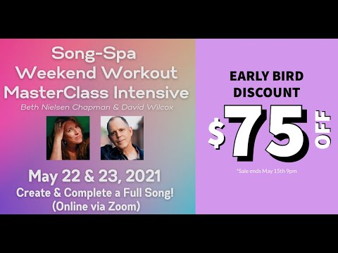 Dave & Beth Present: The Song-Spa Weekend Workout Masterclass Intensive (May 22 & 23)