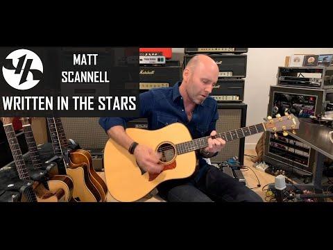 """Written in the Stars"" Matt Scannell Vertical Horizon  Acoustic"