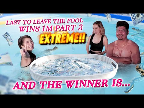 EXTREME Last to Leave The Pool Wins 1M $$ Part 3