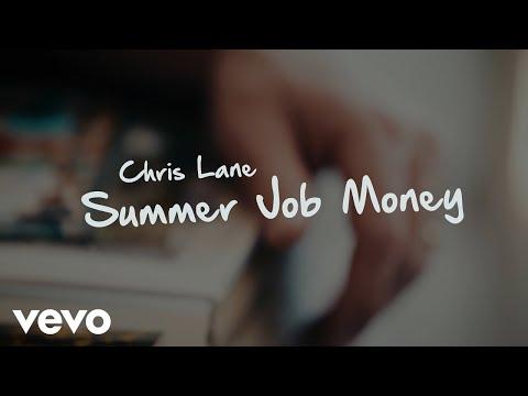 Chris Lane - Summer Job Money (Lyric Video)