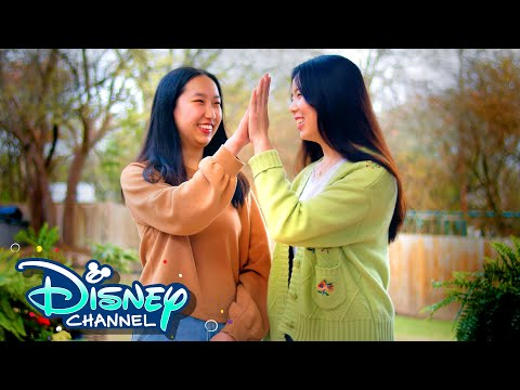 Alice and Sarah with Do Re Mi 🍪   Use Your Voice   Disney Channel