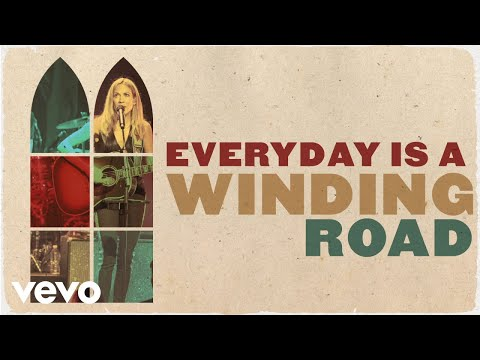 Sheryl Crow - Everyday Is A Winding Road (Live From the Ryman / Lyric Video)