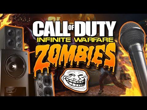 "KID RAPS For HIDDEN Easter Egg "" Zombies In Spaceland Trolling "" !"