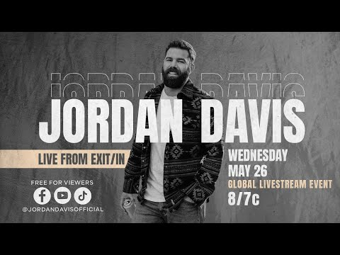 Jordan Davis – Buy Dirt   EP Livestream