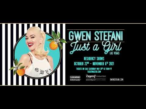 Gwen Stefani - Just A Girl Las Vegas Residency (2021 Dates)