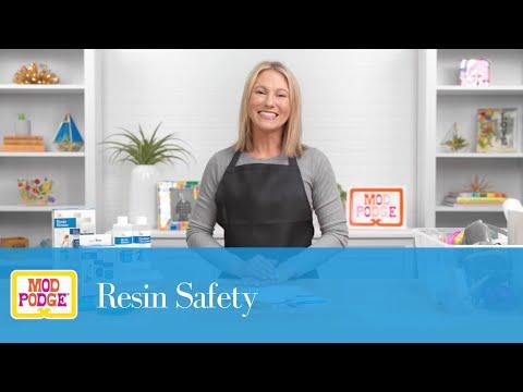 Mod Podge Resin Safety