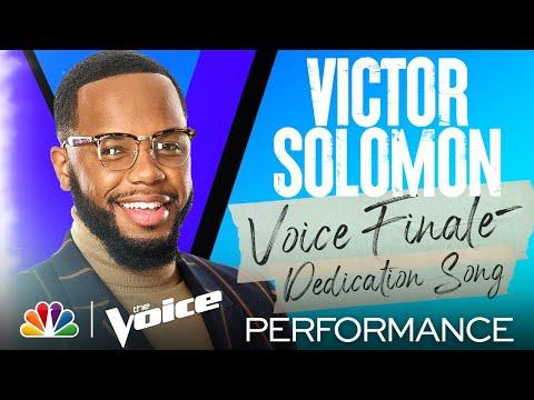 """Victor Solomon Sings Bonnie Raitt's """"I Can't Make You Love Me"""" - The Voice Finale Performances 2021"""