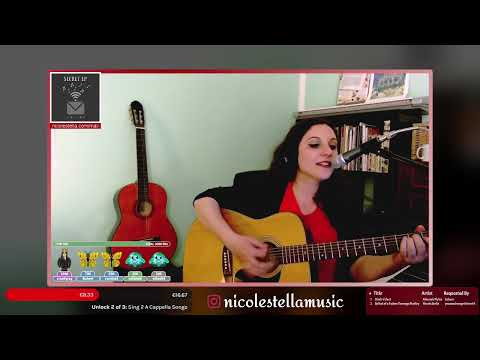 Black Velvet - Alannah Myles (Acoustic Live Cover by Nicole Stella)